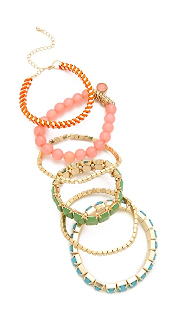 Adia Kibur Beaded Bracelet Set