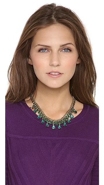 Adia Kibur Teardrop Jewel Necklace