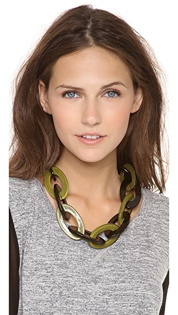 Adia Kibur Short Link Necklace