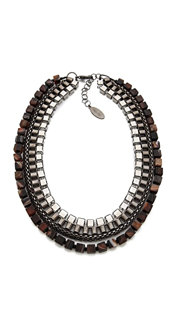 Adia Kibur Multi Layer Necklace