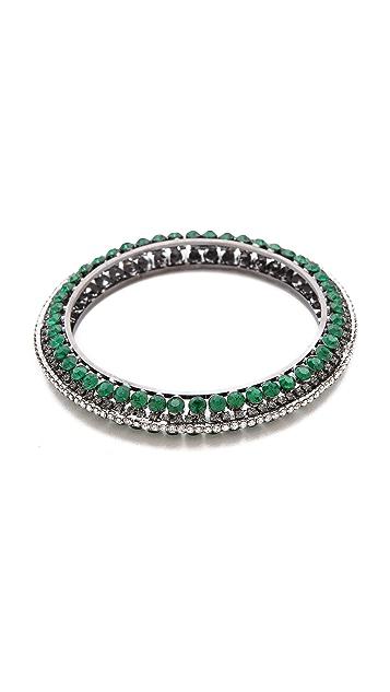 Adia Kibur Gemstone Bangle Bracelet