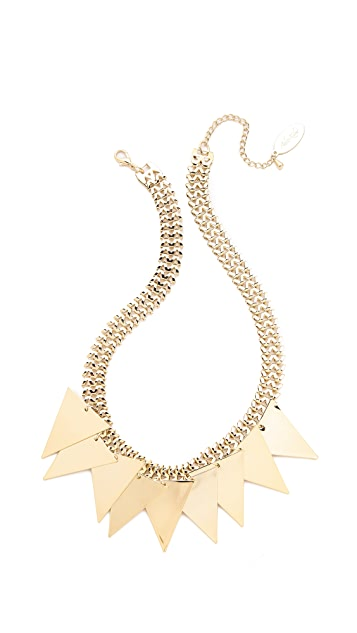 Adia Kibur Triangle Fringe Necklace