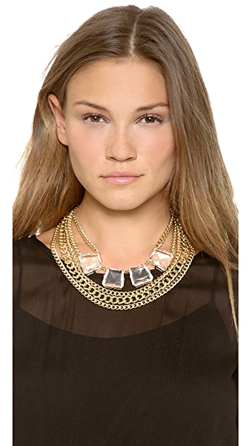 Adia Kibur Bold Layer Chain Necklace
