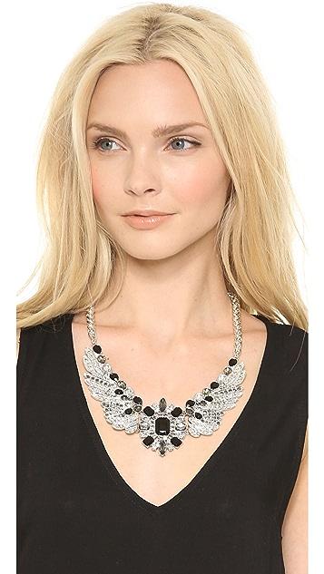 Adia Kibur Crystal Wing Necklace