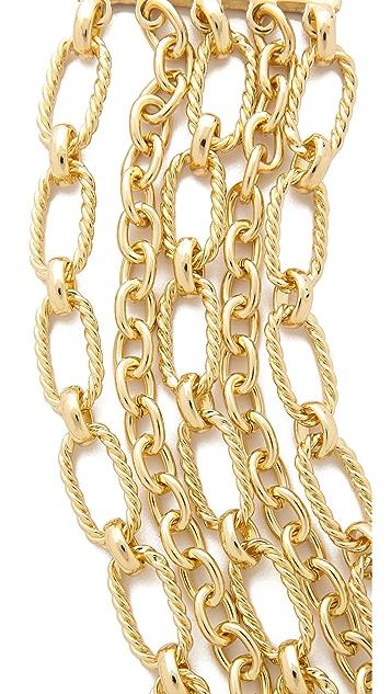 Adia Kibur Многослойный браслет-цепь