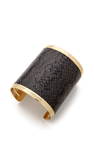 Adia Kibur Embossed Cuff Bracelet