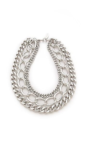 Adia Kibur Chain Layer Necklace