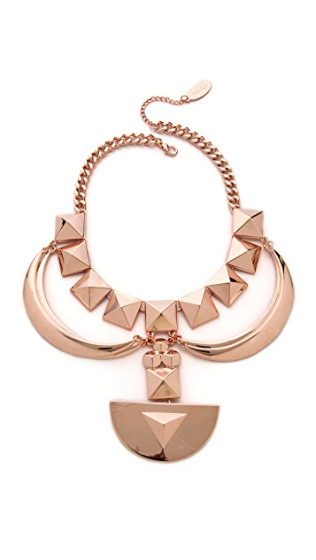 Adia Kibur Shield Statement Necklace