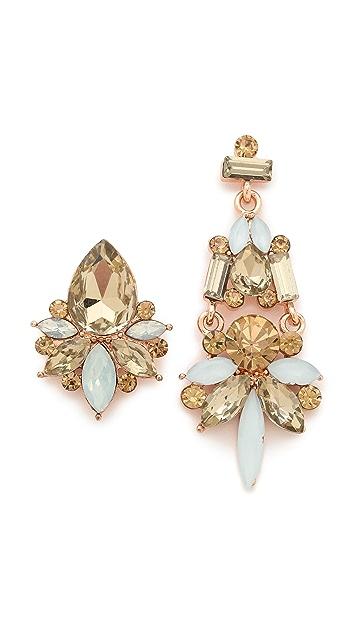 Adia Kibur Pastel Asymmetrical Earrings