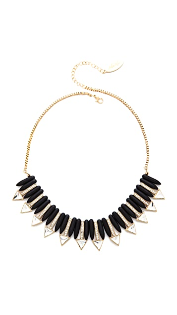Adia Kibur Triangle Short Necklace