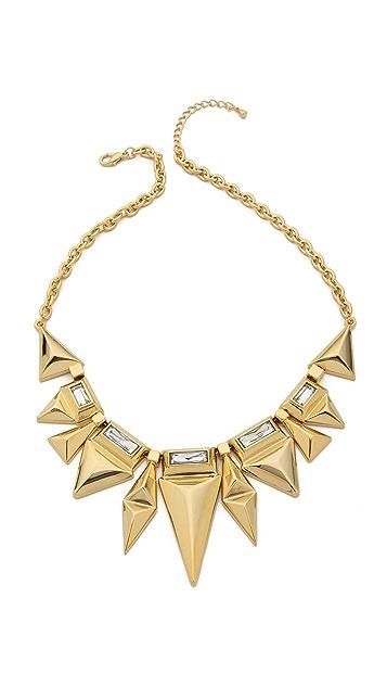 Adia Kibur Crystal Embellished Necklace
