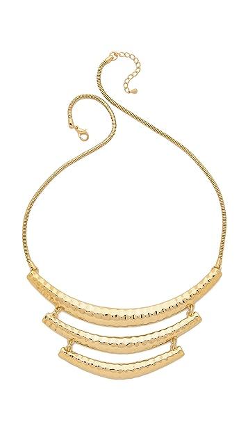 Adia Kibur Triple Layer Necklace