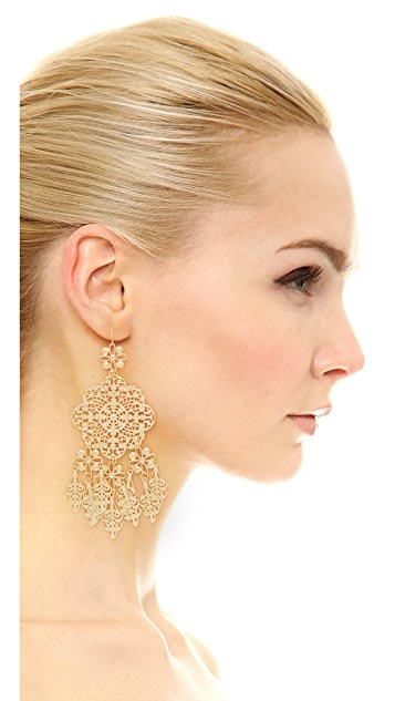 Adia Kibur Callie Chandelier Earrings