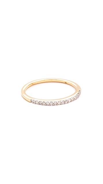 Adina Reyter 14k Pave Band Ring