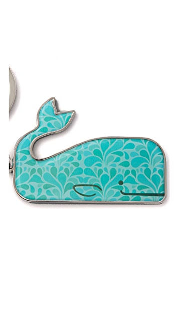 Jonathan Adler Whale Keychain