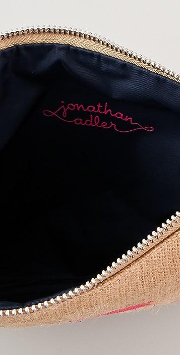 Jonathan Adler Jute Scooter Pouch