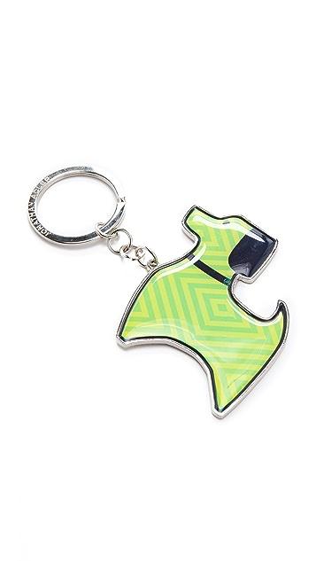 Jonathan Adler Dog Keychain
