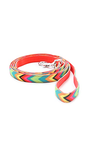 Jonathan Adler Chevron Small Dog Lead