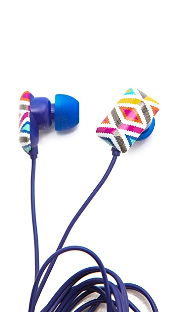 Jonathan Adler Stepped Diamonds Ear Buds
