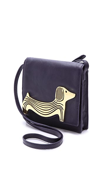 Jonathan Adler Vera Dachshund Cross Body Bag