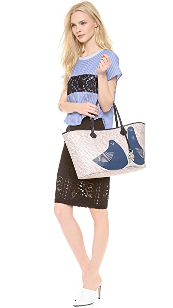 Jonathan Adler Animal Duchess E/W Tote