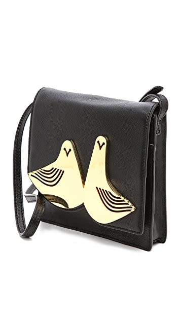 Jonathan Adler Vera Doves Cross Body Bag
