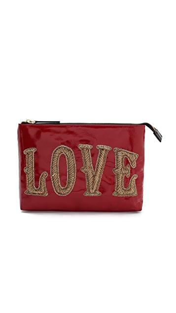 Jonathan Adler Double Sided Large Pouch