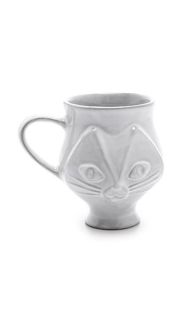 Jonathan Adler Utopia Cat Mug