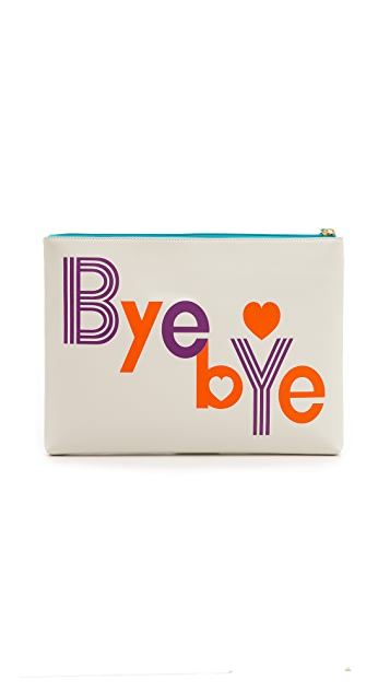 Jonathan Adler Hello / Bye Bye Pouch