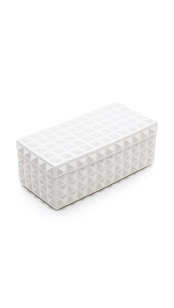 Jonathan Adler Charade Square Stud Box