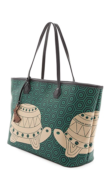 Jonathan Adler Animal Duchess E / W Tote