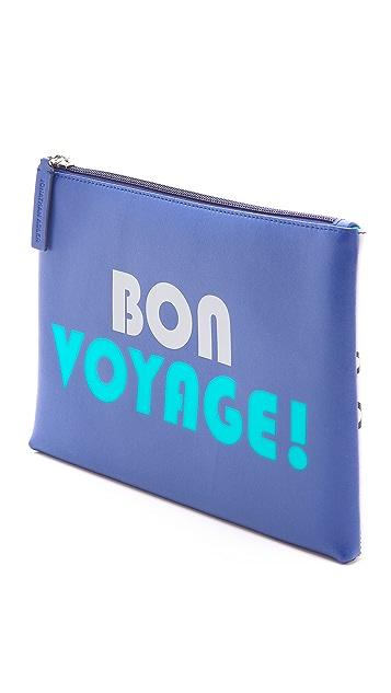 Jonathan Adler Bon Voyage Medium Pouch