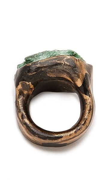 Adina Mills Design Fuschite Pinky Ring