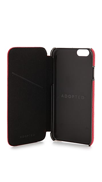 ADOPTED Leather Folio iPhone 6 Case