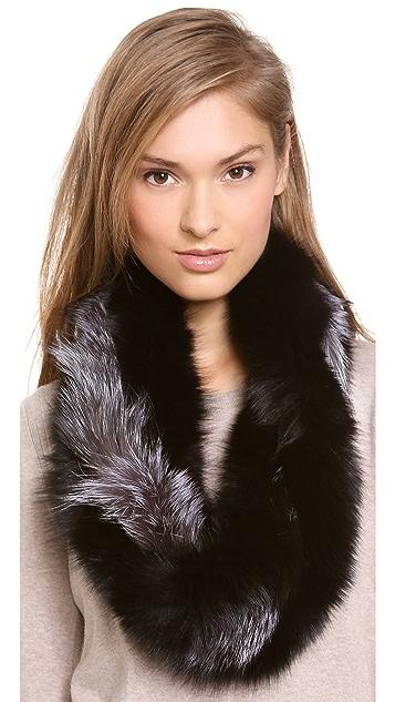Adrienne Landau Twisted Fox Scarf