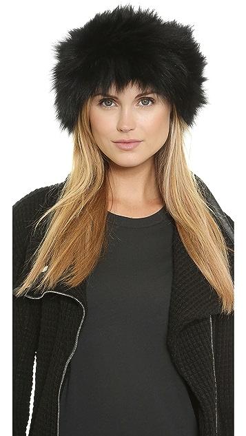 Adrienne Landau Knit Fur Headband Earwarmers  531b6bb2f0b