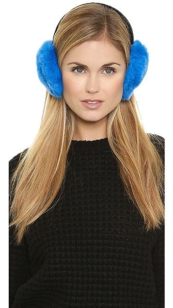 Adrienne Landau Fur Earmuffs