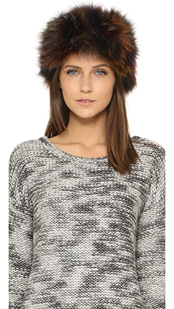 Adrienne Landau Fur Headband  511b8ea1dd5
