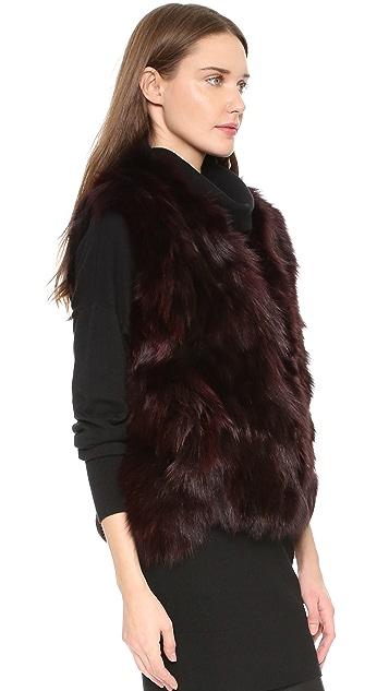 Adrienne Landau Foxy Rabbit Vest