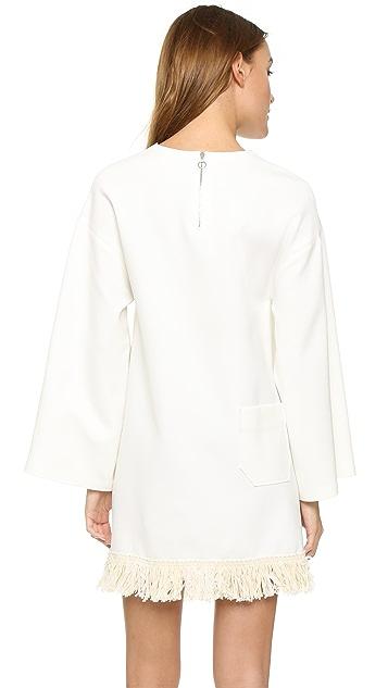 AERON Fringe Shift Dress