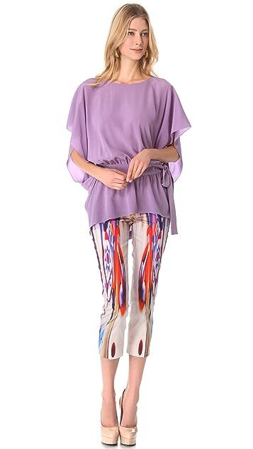 Alberta Ferretti Collection Printed Pants