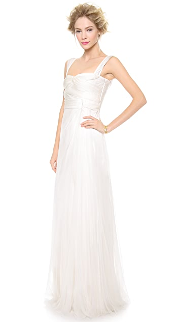 Alberta Ferretti Collection Sleeveless Gown