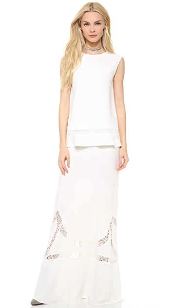 Alberta Ferretti Collection Maxi Skirt