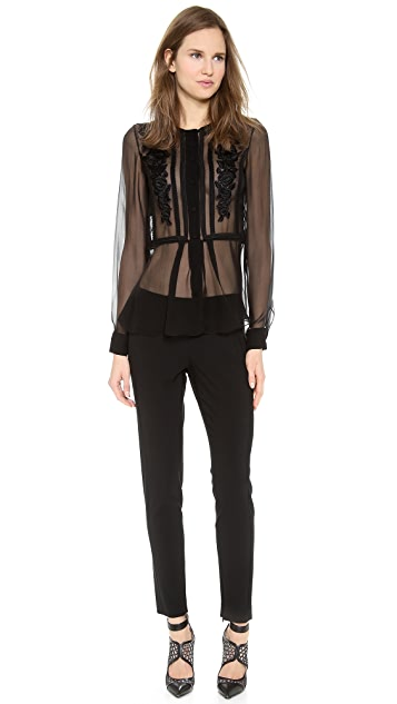 Alberta Ferretti Collection Long Sleeve Blouse