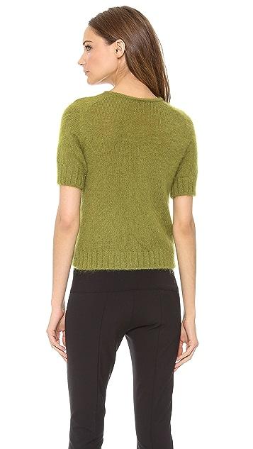 Alberta Ferretti Collection Short Sleeve Sweater