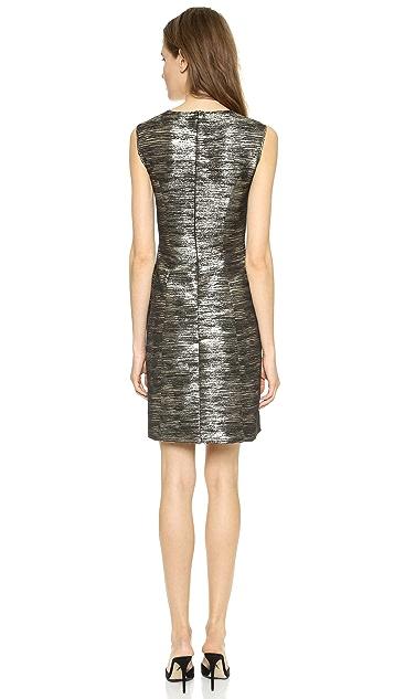 Alberta Ferretti Collection Jacquard A Line Dress