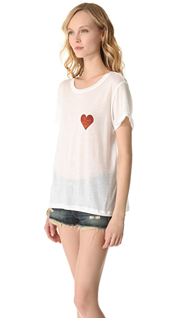 A Fine Line Hastings Heart Tee