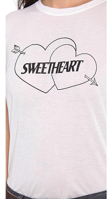 A Fine Line Sweetheart Tee