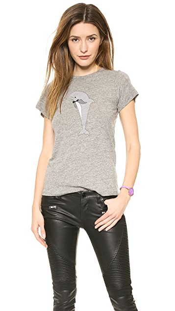 A Fine Line Party Dolphin Tee