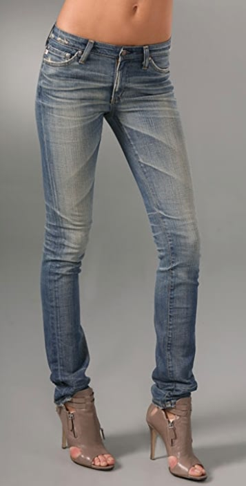 AG Premiere Straight Skinny Jeans